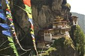 Tigernest-Kloster in Bhutan.